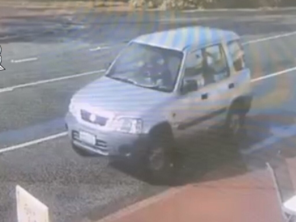 The car Jason Gale was last seen in.