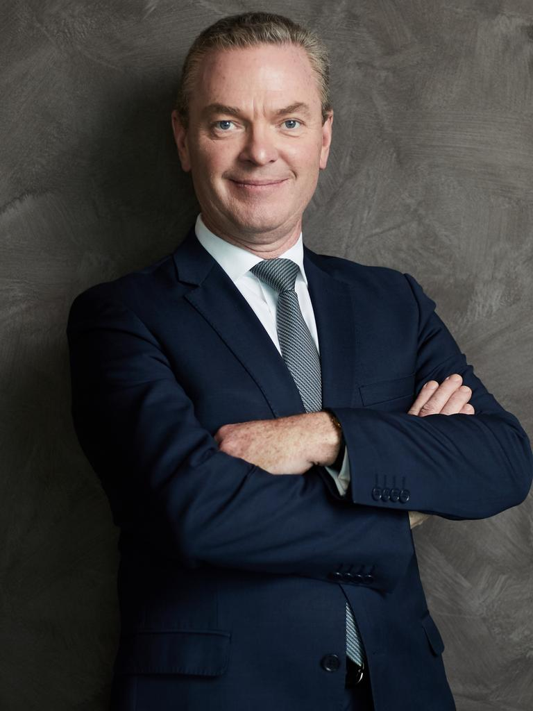 Christopher Pyne has a new book called The Insider. Picture: Matt Loxton