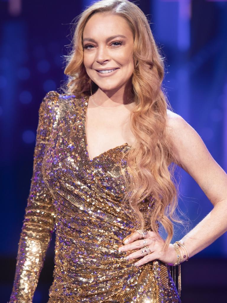 Lindsay Lohan's out.
