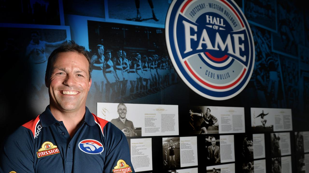 Western Bulldogs great and six-time All-Australian Brad Johnson agreed the AFL should wait a few weeks before determining where the Grand Final is played but said it was critical that the game be held in front of a large crowd. Picture: Nicole Garmston