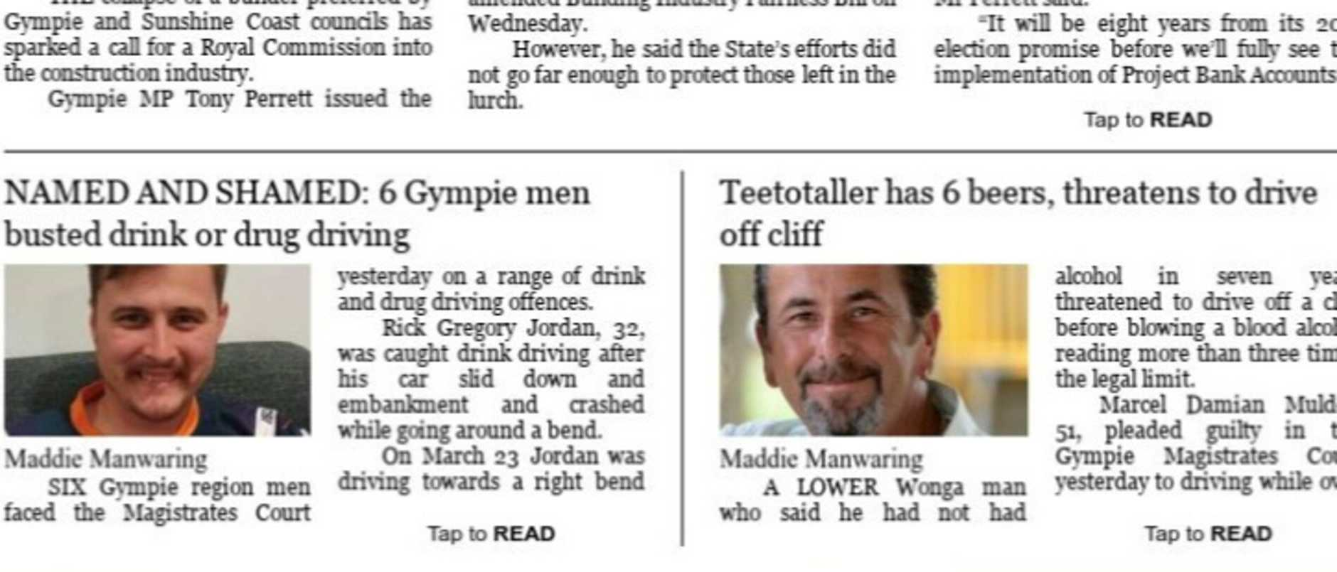 First DPE (digital edition) of digital only GYmpie Times July 17, 2020