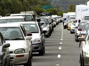 Multi-vehicle smash causes traffic mayhem