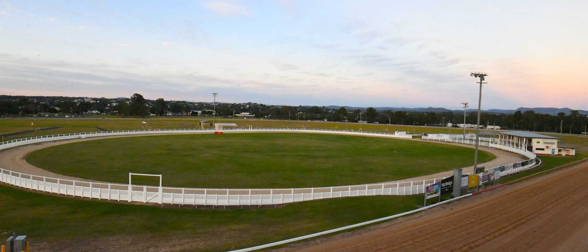 The big vacant showgrounds where the Gympie Show would have entertained thousands of people in May - Picture: Shane Zahner