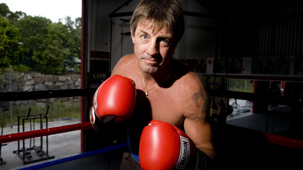 Boxer Darren Obah in 2009. Photo by Lou O'Brien.