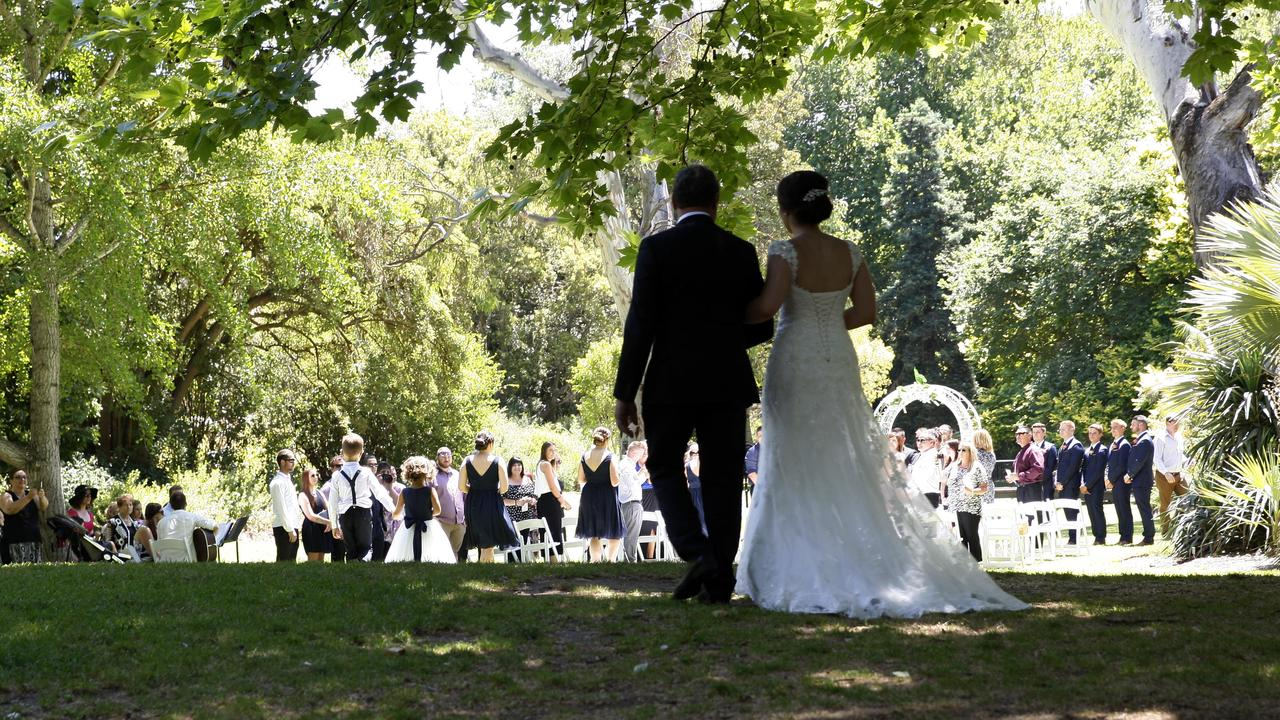 There are changes to some of the restrictions in place for weddings in NSW. Photographer Emma Brasier