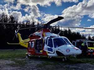 73yo seriously injured in Gwydir Highway crash