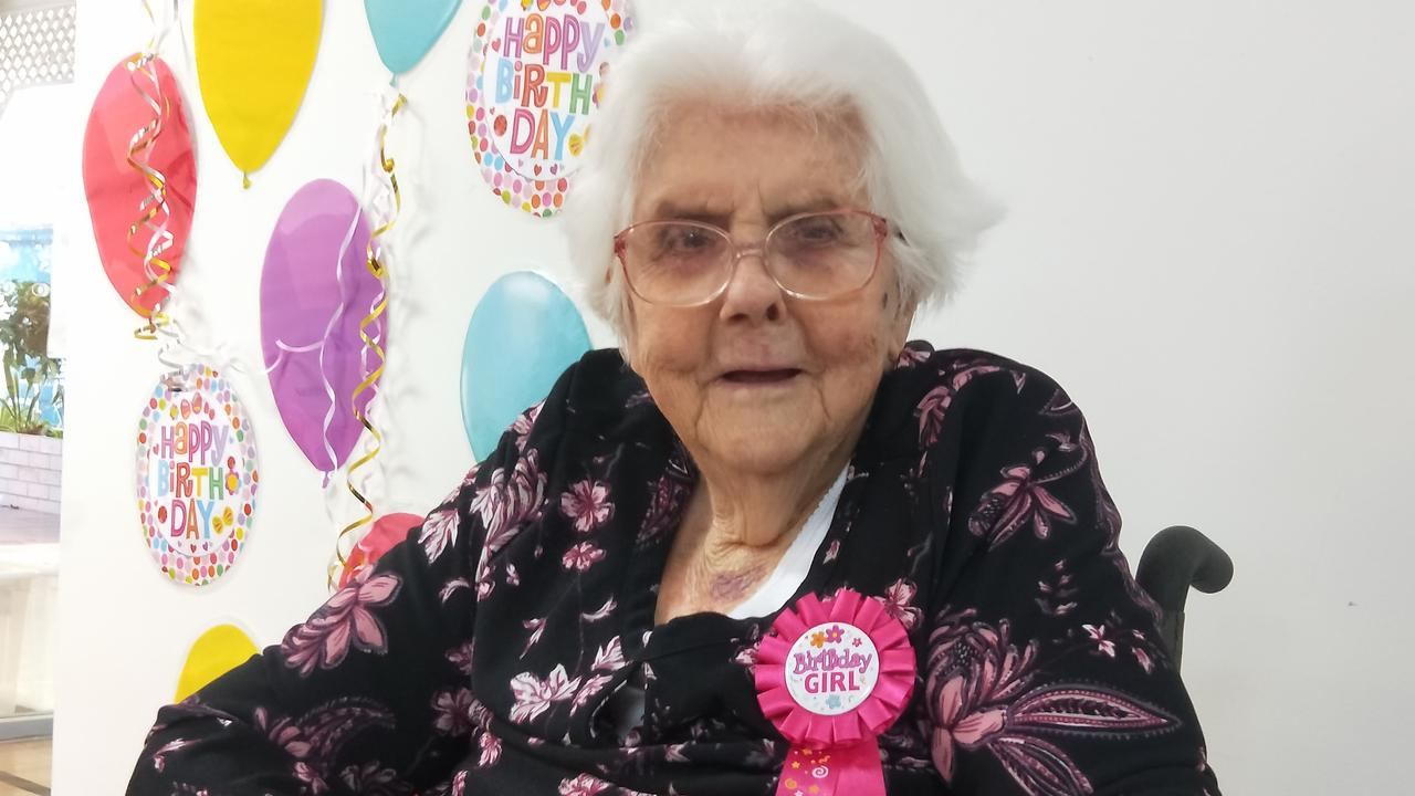Hazel Green turned 104 on July 7. Picture: Contributed