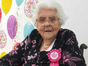 Hazel happy with her 104 years of 'good life'