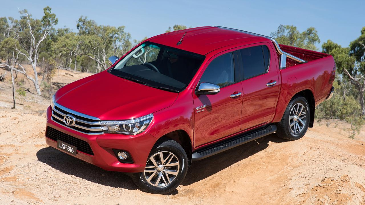 The Toyota HiLux is a capable performer on and off road.