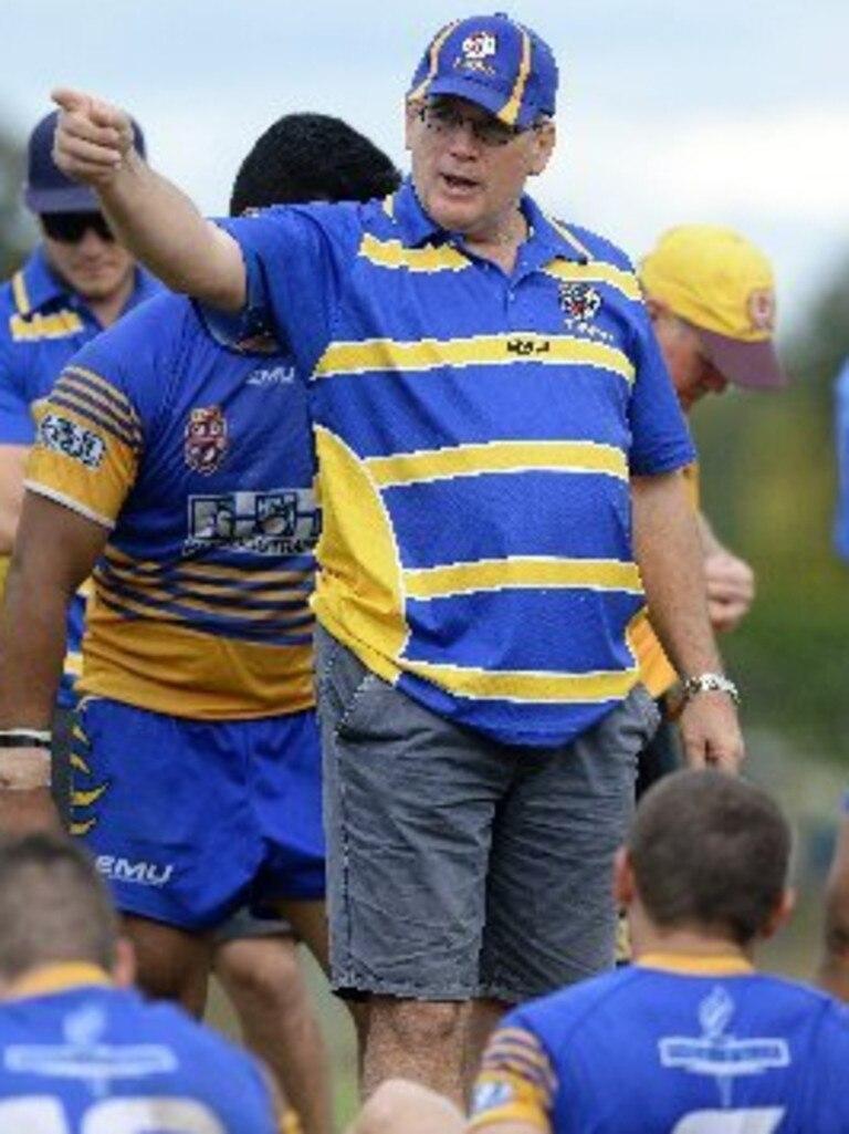 Norths A-Grade coach Mick Newton
