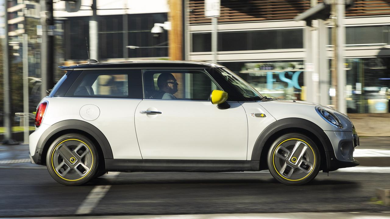 The Mini Electric is ideal for city drivers.