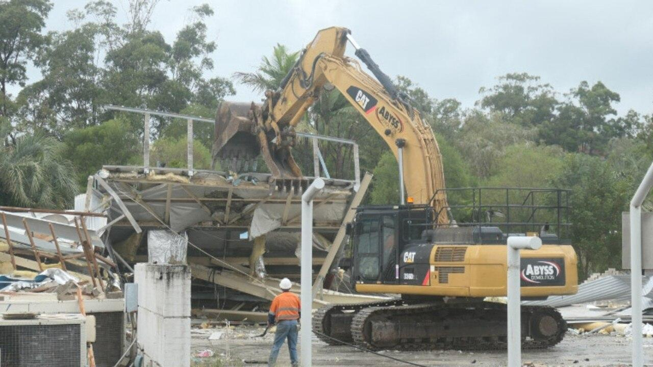 The Coles-owned site at Noosa Junction which saw a defunct bowls clubhouse demolished recently.