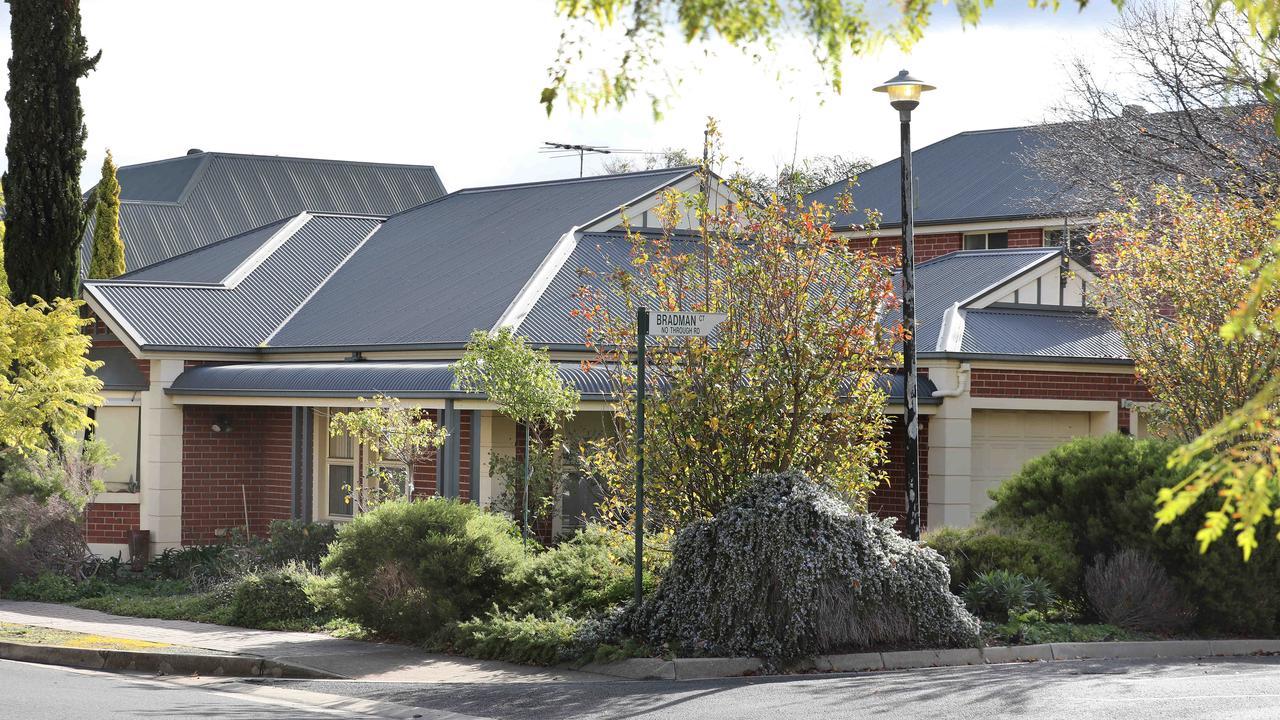 Ann Marie Smith's home at Kensington Park. Picture: Dean Martin