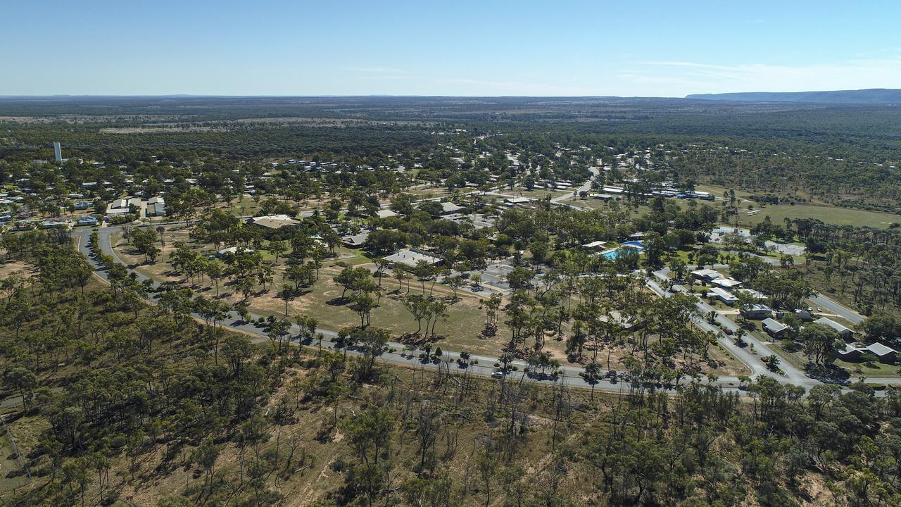 Glenden from above.
