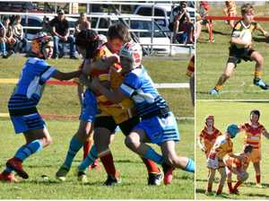 Coffs' budding young junior rugby league stars were
