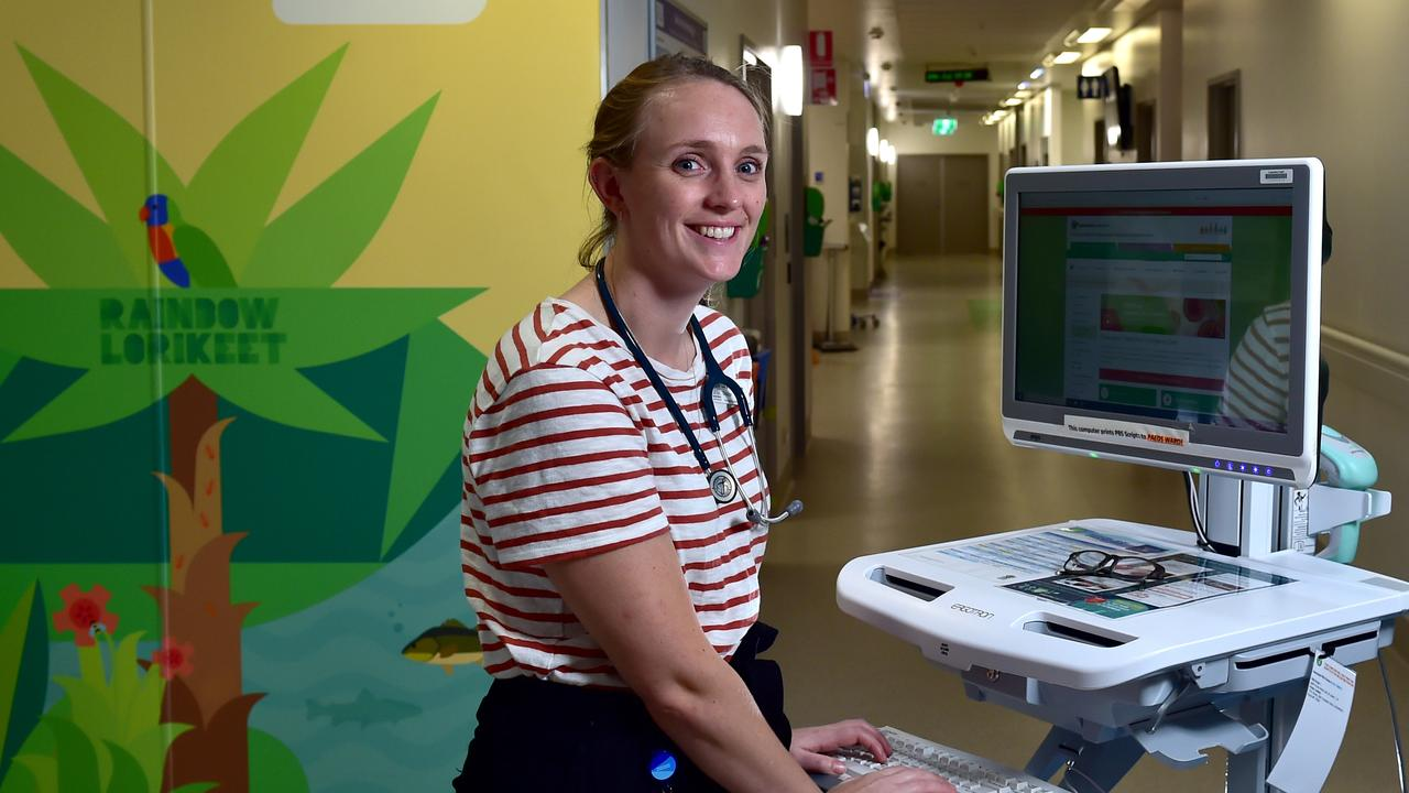 Townsville University Hospital. Dr Lucy Drinkwater. Picture: Evan Morgan