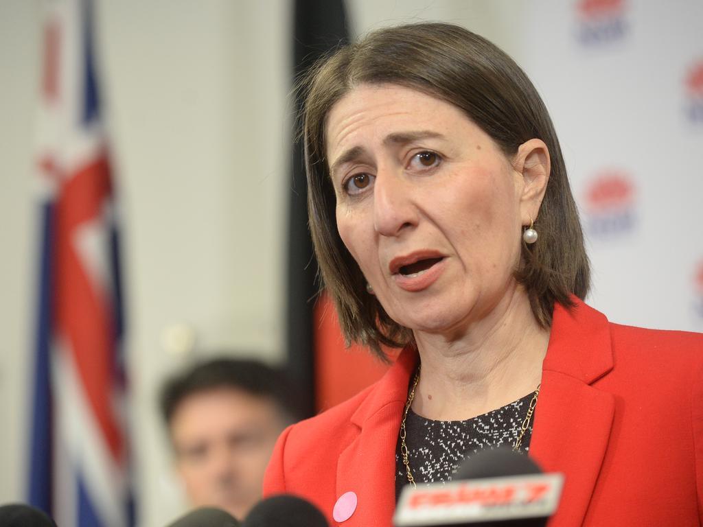 Premier Gladys Berejiklian on Friday. Picture: Jeremy Piper/NCA NewsWire