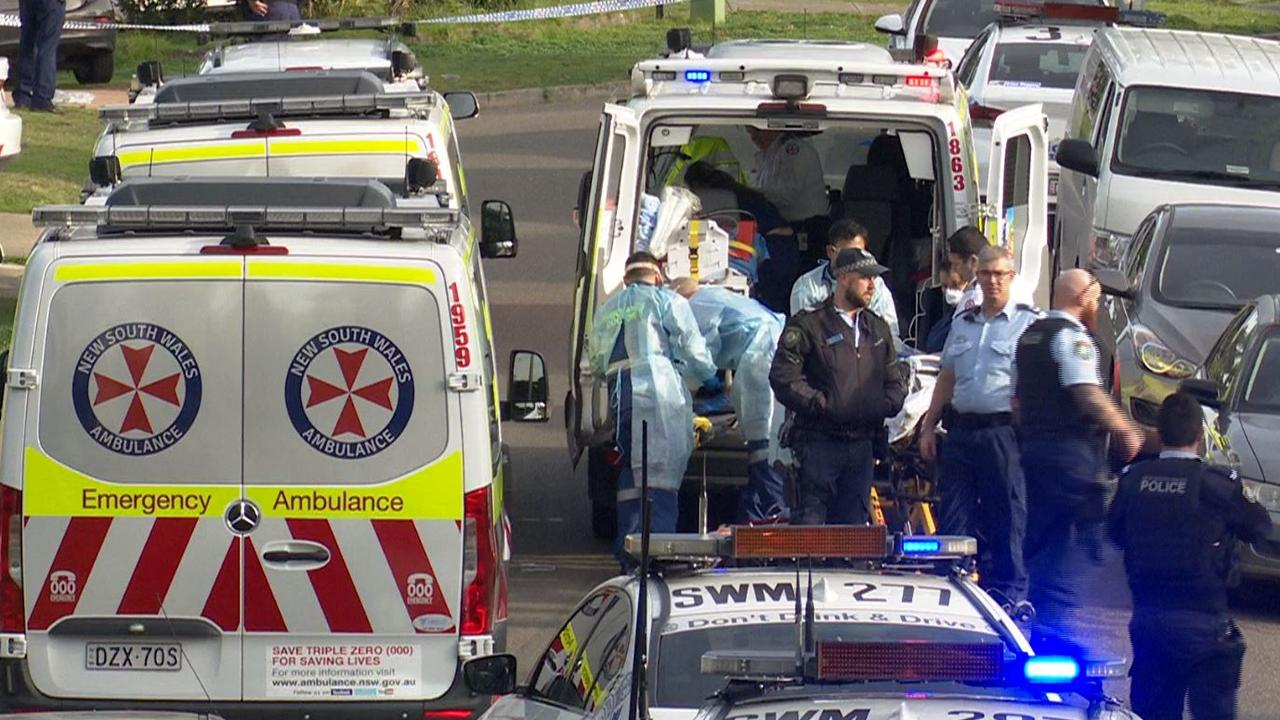 The toddlers were rushed to hospital in a critical condition. Picture: TNV