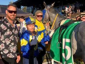 Gallant grey Absolut Artie scores memorable victory
