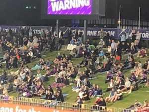 Concerns stadium crowd could burst Coast's safe COVID bubble