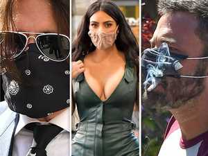 Celeb fail: Who is getting their face coverings wrong