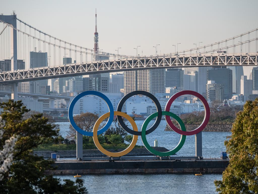 The Tokyo 2020 Olympic rings may still enjoy their moment in the spotlight.
