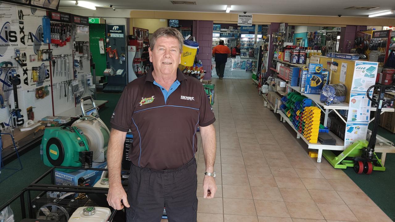 LNP candidate for Gladstone Ron Harding. Picture: Rodney Stevens