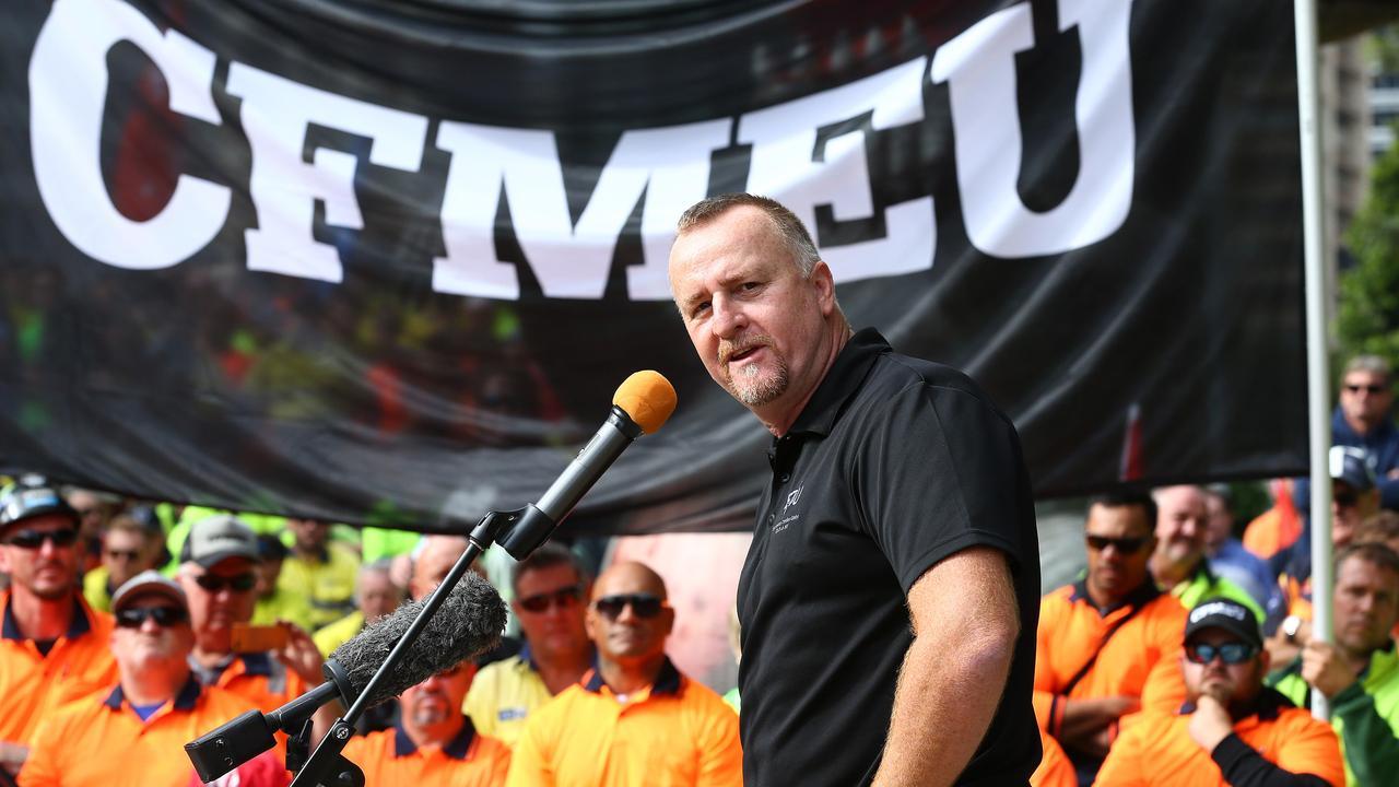 The ETU's Peter Ong, Brisbane. Photographer: Liam Kidston