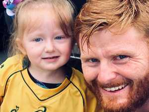 Grieving dad using daughter's tumour to help find cure