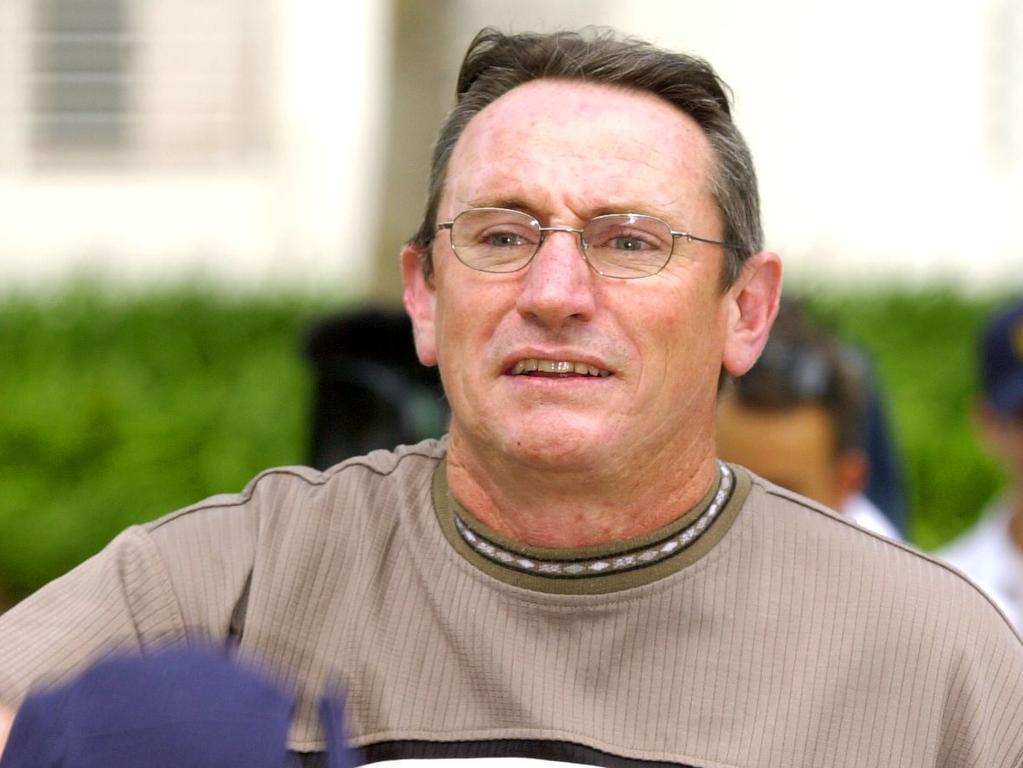 Vince Millar at Darwin Supreme Court. Picture: Brad Fleet