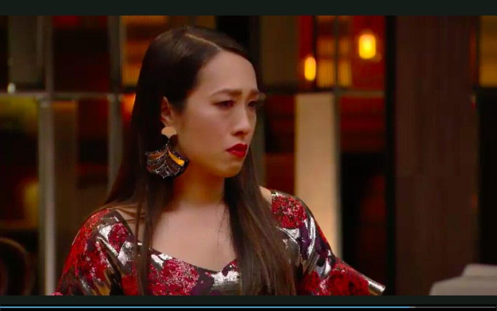MasterChef judge Melissa Leong broke down listening to Reynold's story.