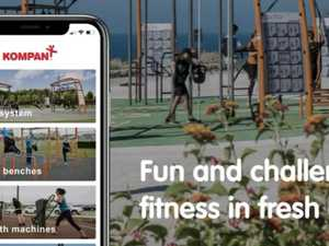Outdoor fitness guided by free app