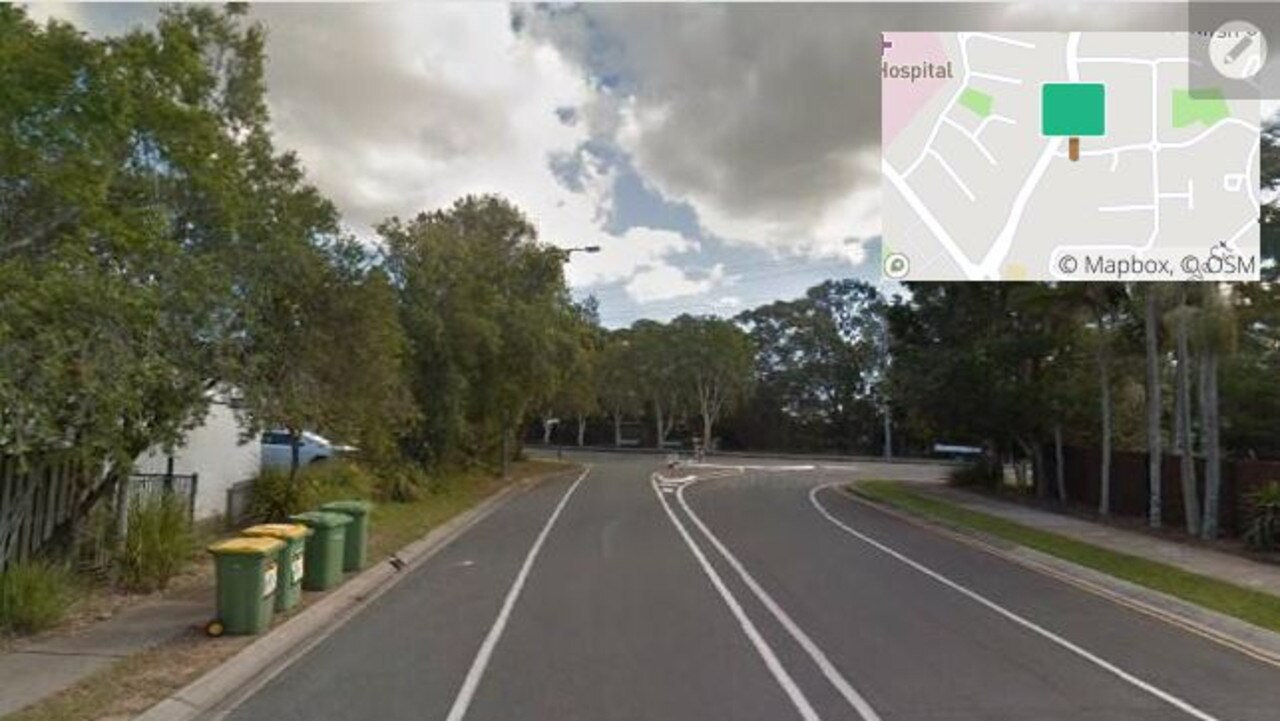 A Eumundi Noosa Rd carpark was advertised on the app for $420 a month. Picture: Google Maps