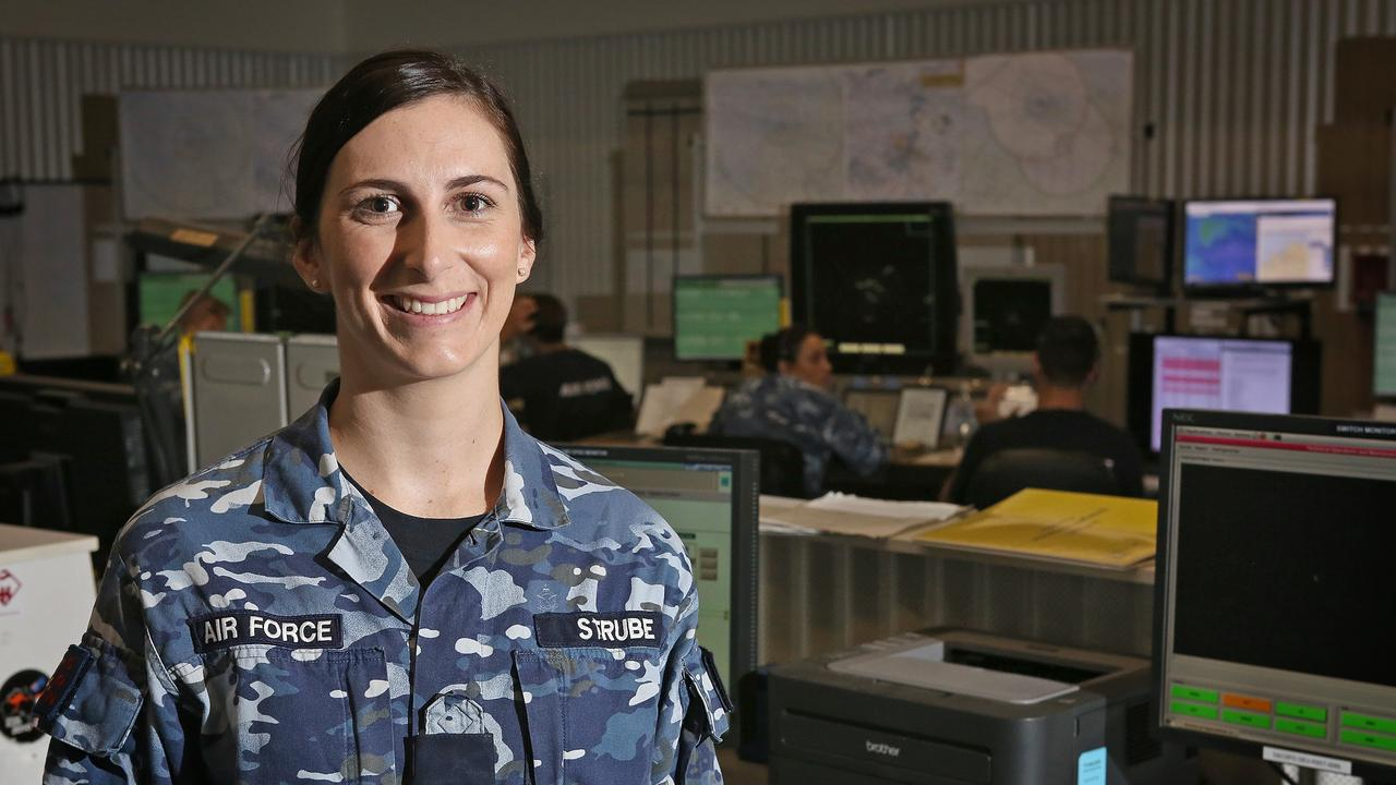 Royal Australian Air Force Air Traffic Controller, Flight Lieutenant Paige Strube is currently posted to No. 452 Squadron at RAAF Base Darwin.