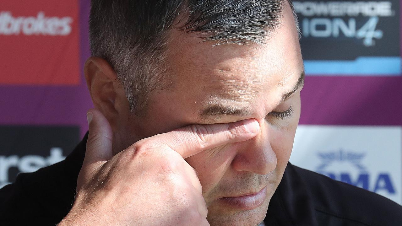 Anthony Seibold is going to be under immense scrutiny until the end of the season.