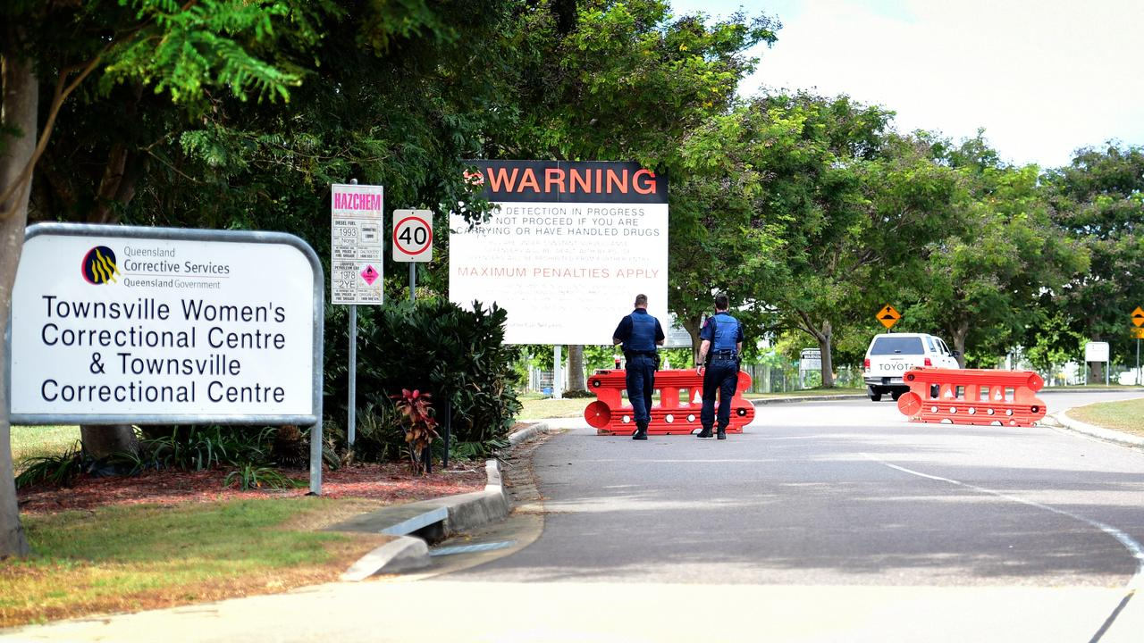 Four prisoners have been placed into solitary confinement after an incident at Townsville Correctional Centre.
