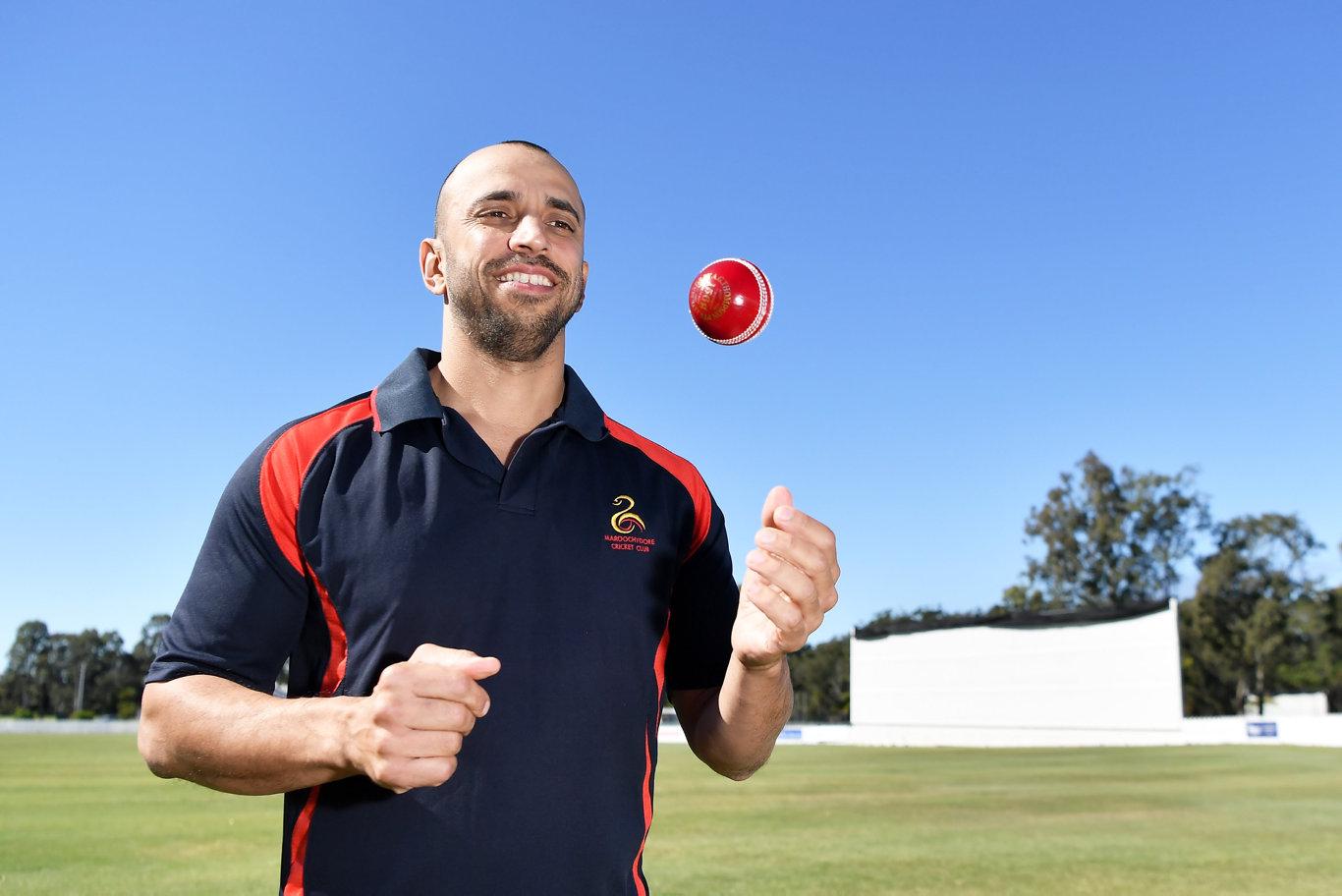 CRICKET: Shane Newton named in team of decade. Photo Patrick Woods / Sunshine Coast Daily.
