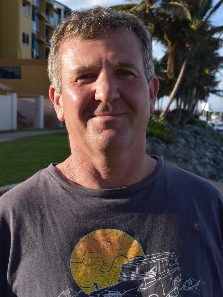 Werner Van Der Linde, Mackay Harbour.