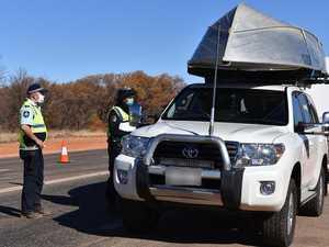 Victorian caravan 'invasion' prompts virus concerns