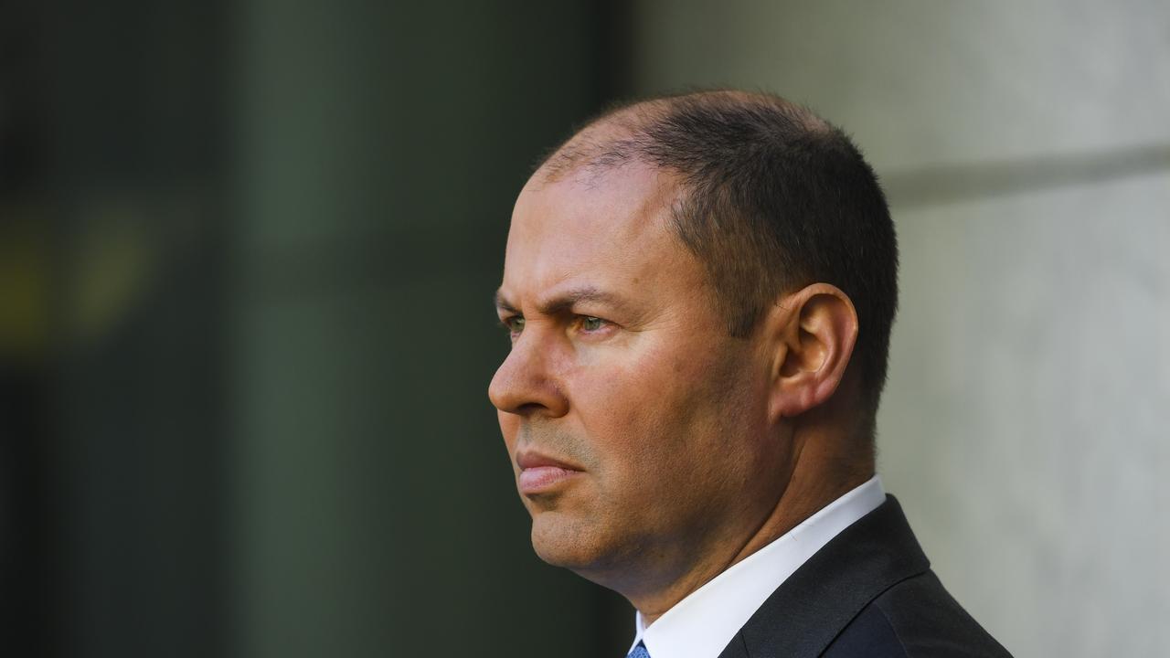 Australian Treasurer Josh Frydenberg is set to announce changes to the JobKeeper scheme on Thursday. (AAP Image/Lukas Coch)