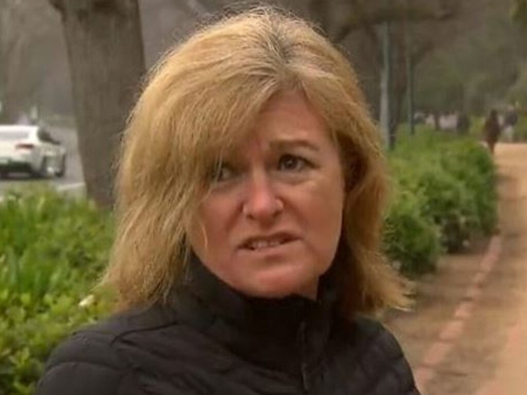 Ms Grollo's comments sparked backlash online. Picture: Nine News/Channel 9