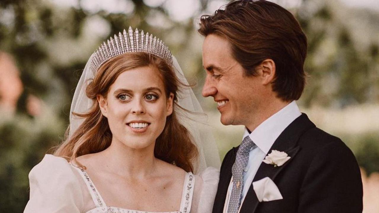 Princess Beatrice married Edoardo Mapelli Mozzi on Friday. Picture: Instagram