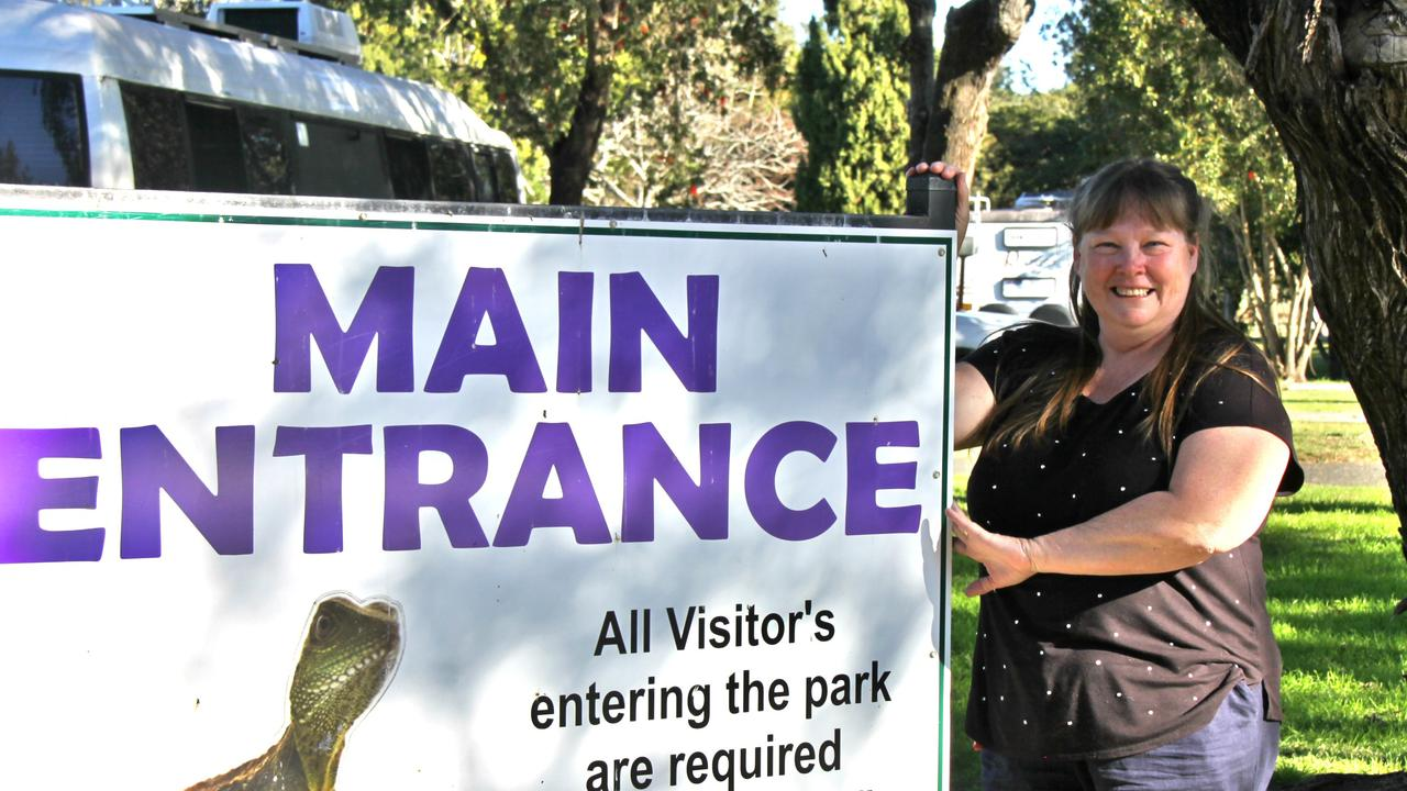 CARING VIGILANCE: At Lismore Centra Tourist Park, manager Carmen Thomas said potential guests are checked to ensure no-one enters from a pandemic hotspot.