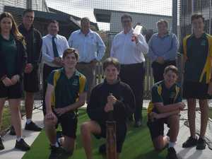 Cricketers set to hit sixes with new facility