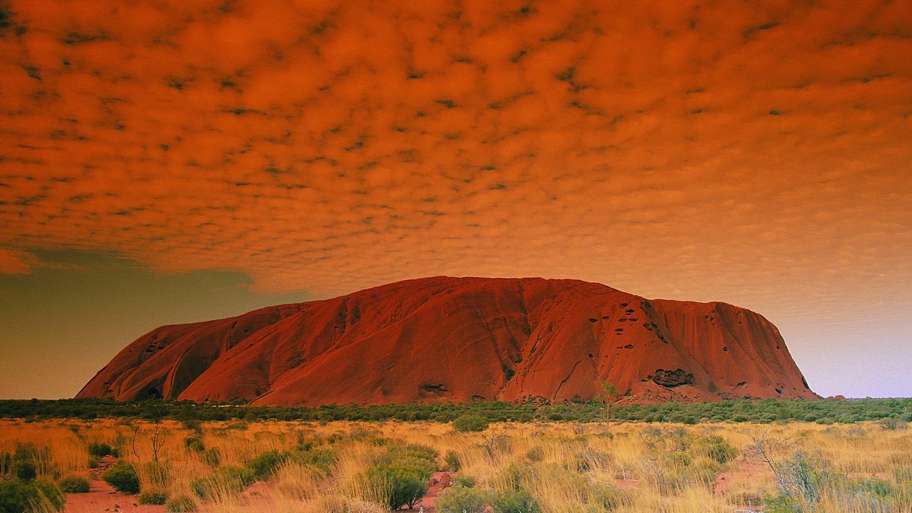 Uluru. Picture: Tourism Central Australia