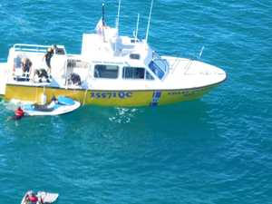 Three rescued after jetski incident off Noosa