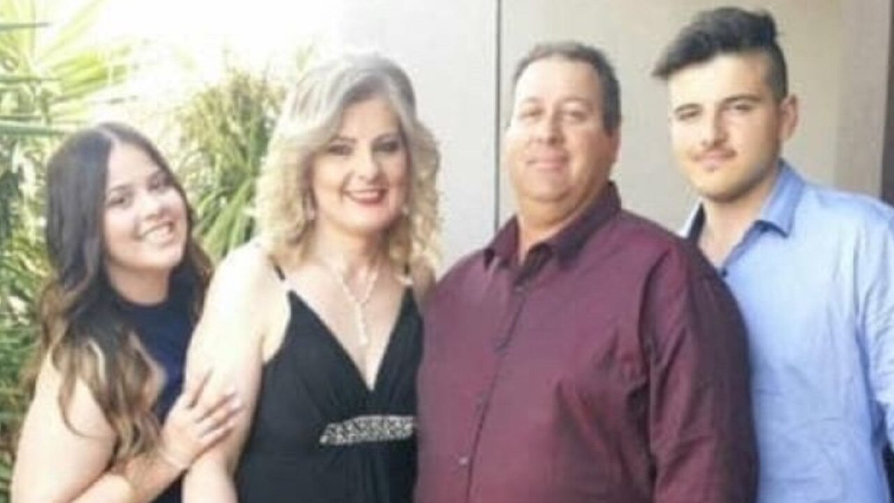 Adrian Pacione, 20, (right) pictured with his family. Picture: Facebook