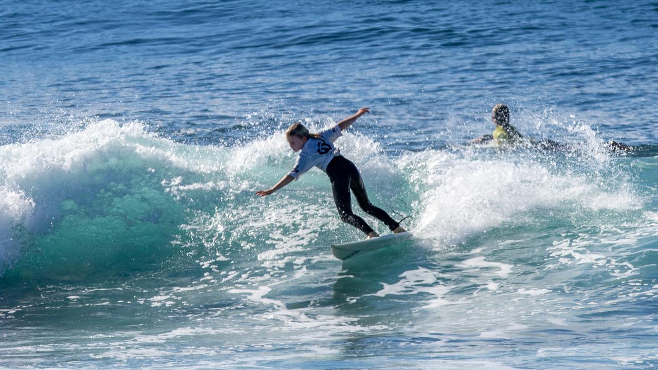 Pipi Taylor in top form: Photos Ben Stagg/Surfing Queensland