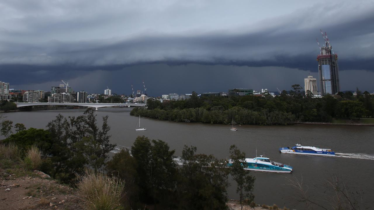 Parts of Queensland can expect up to 100mm of rain.