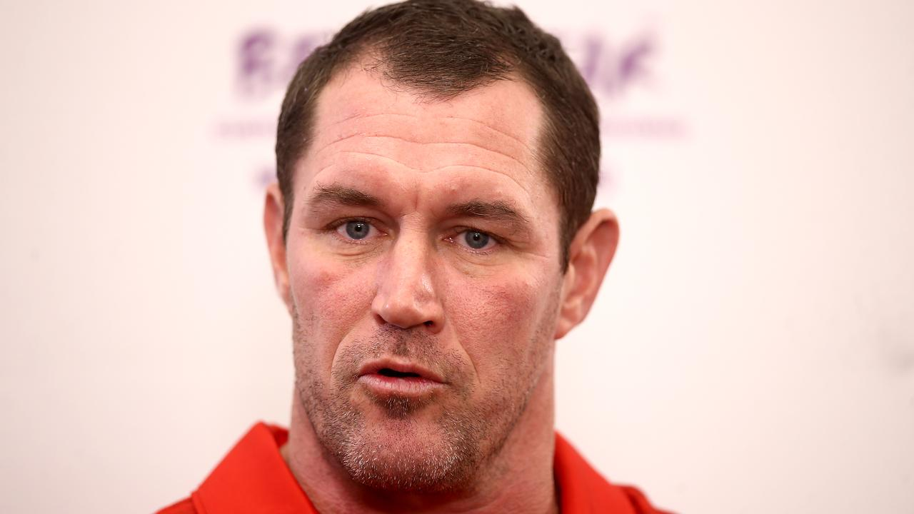 Tonga coach Kristian Woolf. (Photo by Phil Walter/Getty Images)